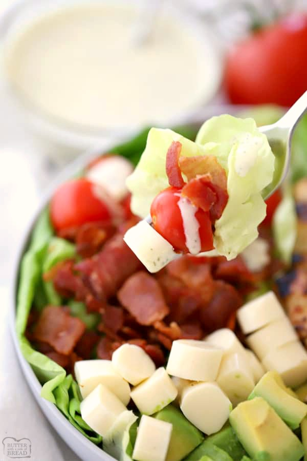 easy summer BLT salad recipe