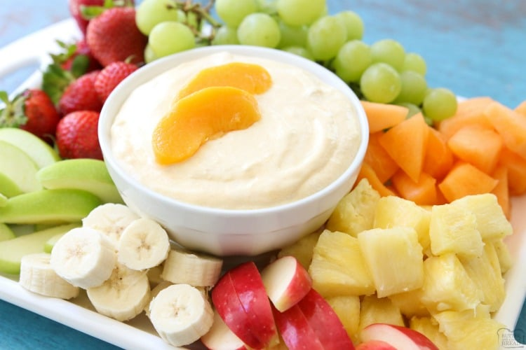cream cheese fruit dip recipe