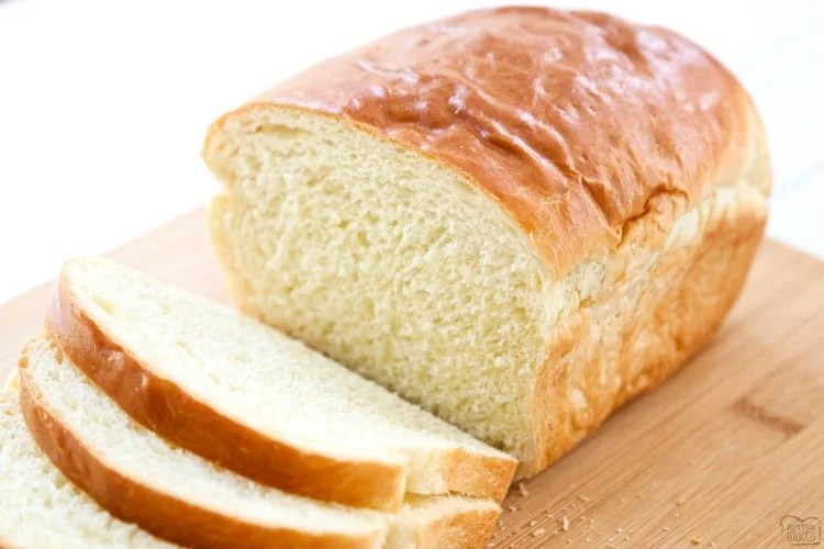 White Bread recipe is made with six ingredients & detailed instructions showing how to make bread! Done in just over an hour this recipe is one of the best soft white sandwich bread recipes.