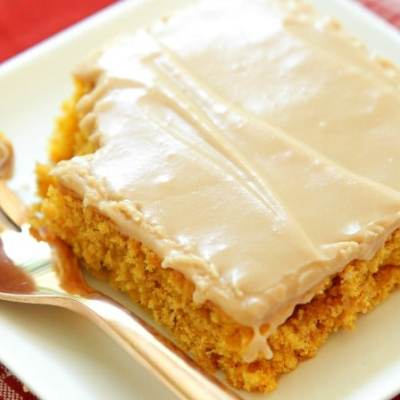 MAPLE ICED PUMPKIN BARS