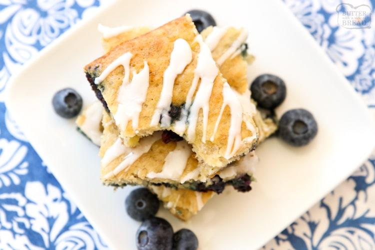 blueberry banana bars recipe
