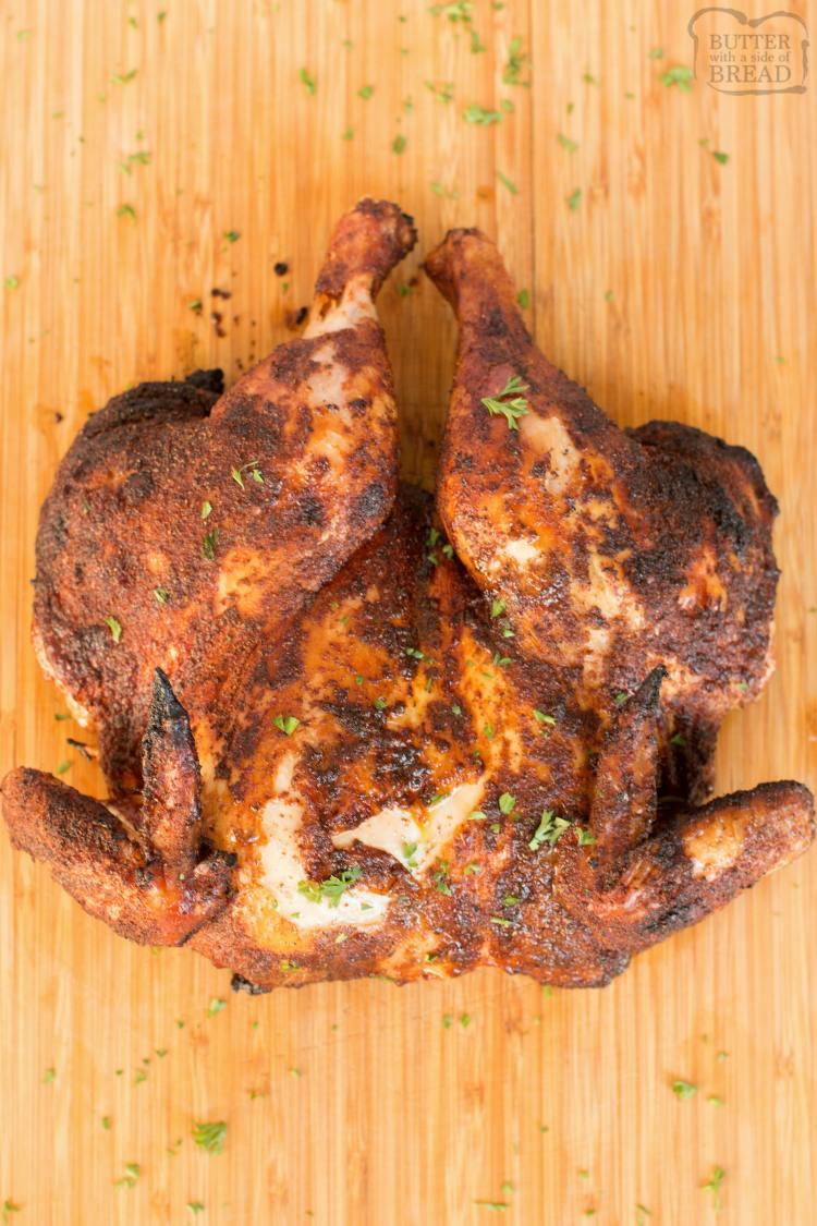 grilled spatchcock chicken recipe