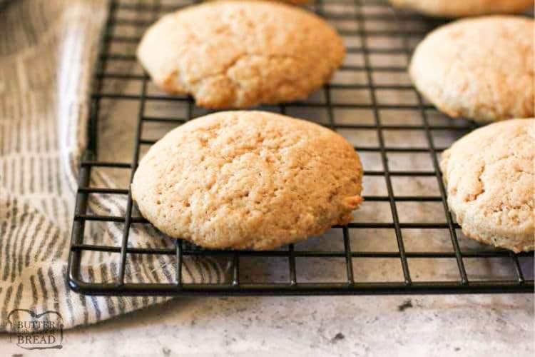 homemade eggnog cookies