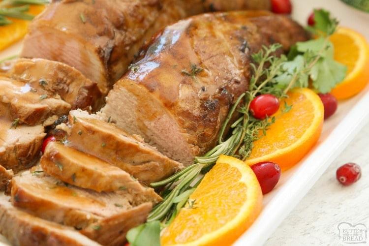 Best Pork Tenderloin Marinade Butter With A Side Of Bread