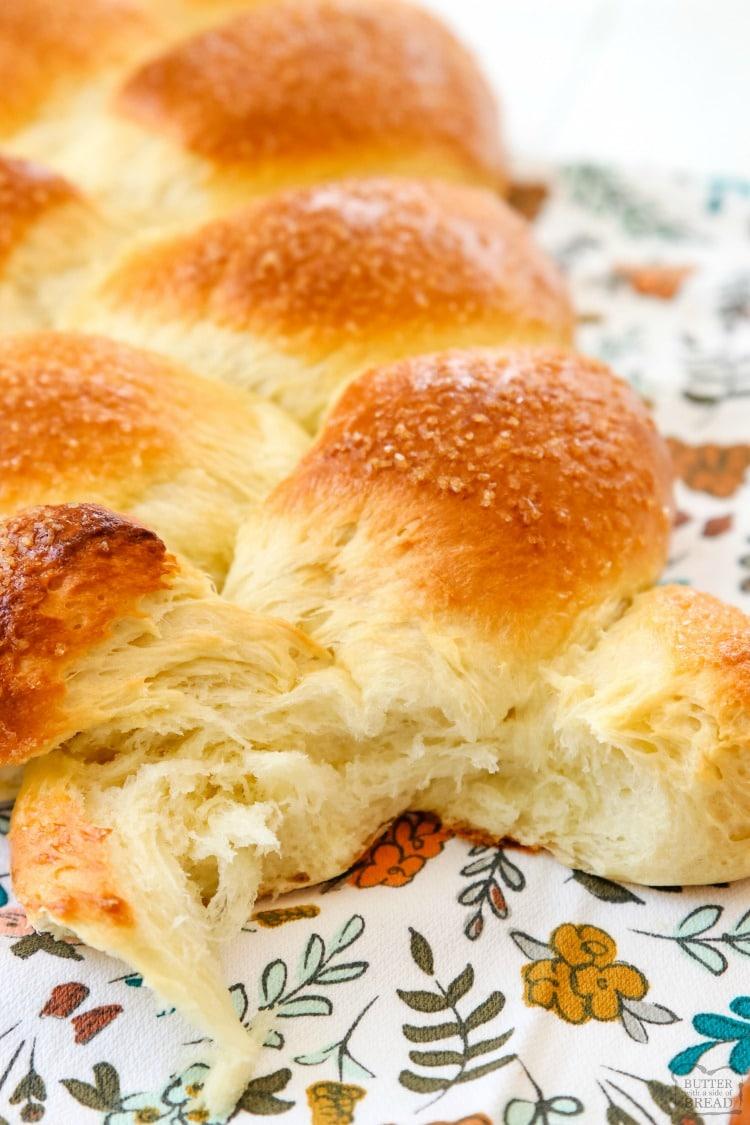 Braided Sweet Bread recipe