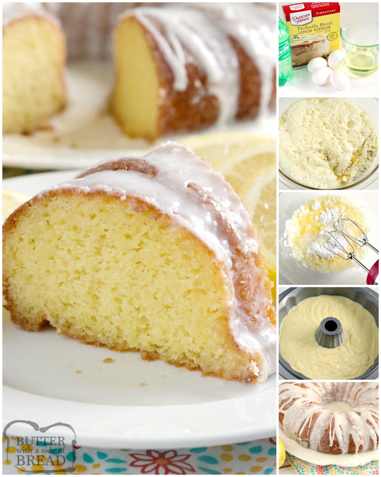 Step by step instructions on how to make lemon cake recipe