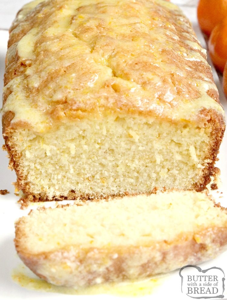 Orange Juice Bread is a delicious quick bread recipe made with orange juice! This delicious bread is easy to make and has the most amazing orange flavor, especially with the simple orange glaze on top.
