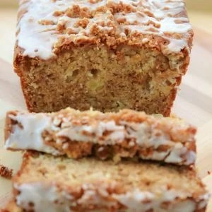 Cinnamon Apple Banana Bread recipe