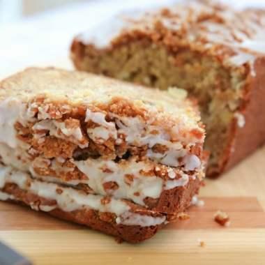 Cinnamon Apple Banana Bread recipe