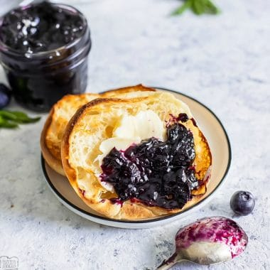Easy Blueberry Jam recipe