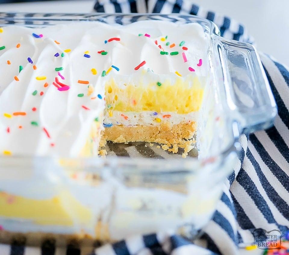 Birthday Cake Lush Dessert