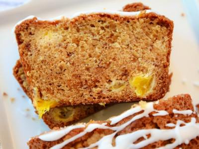 Mango Banana Bread recipe
