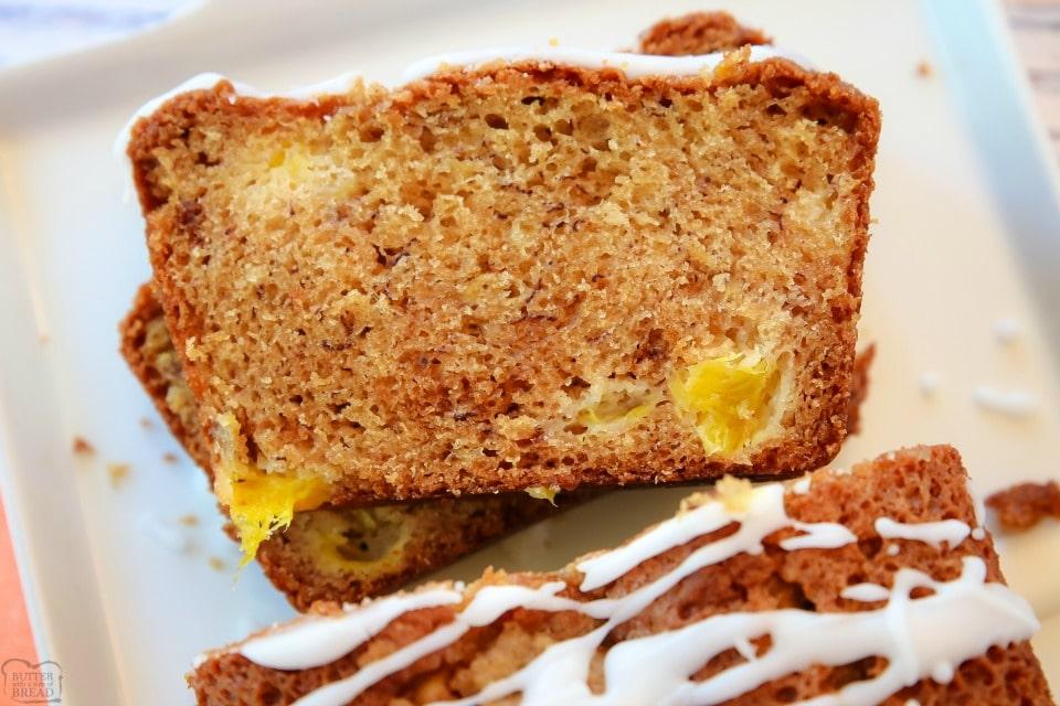 Mango Banana Bread recipe