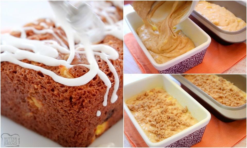 How to make Mango Banana Bread recipe
