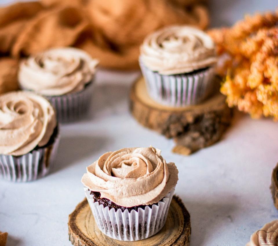 How to make Hot chocolate Cupcakes