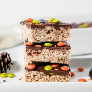 Easy Halloween Rice Krispie Treats recipe