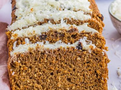 Easy Homemade Carrot Cake Bread