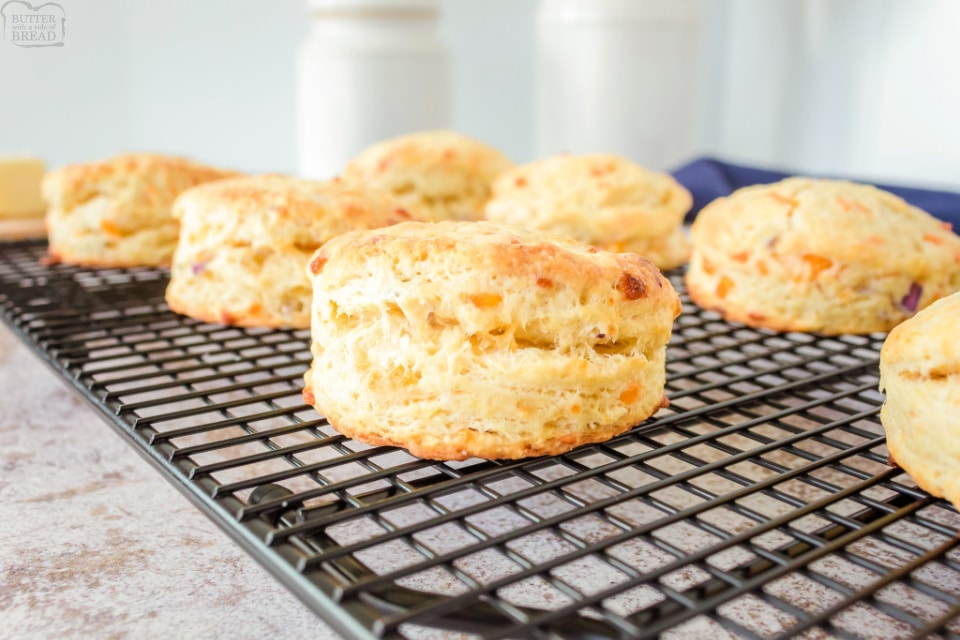 Soft, Flaky Cheddar Biscuits recipe