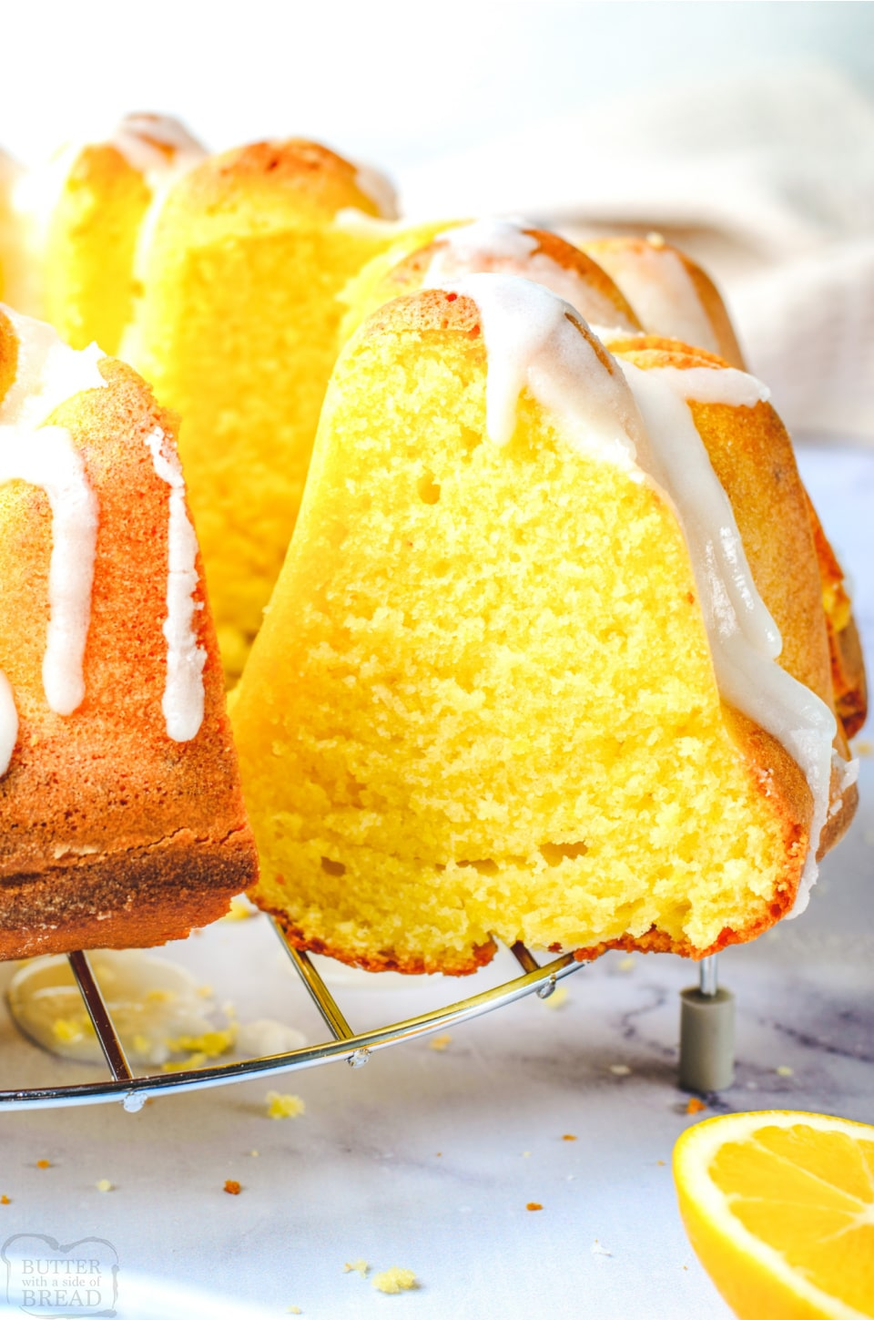 Iced Lemon Bundt Cake recipe