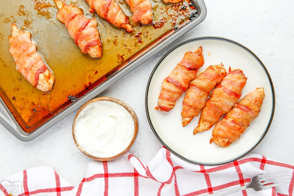 How to make bacon wrapped chicken tenders