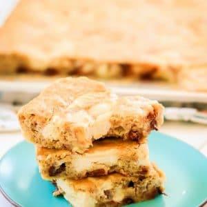 Cheesecake banana bars are soft, flavorful cinnamon banana bars with a vanilla cheesecake swirl! Easy recipe for ripe bananas that's so much better than banana bread!