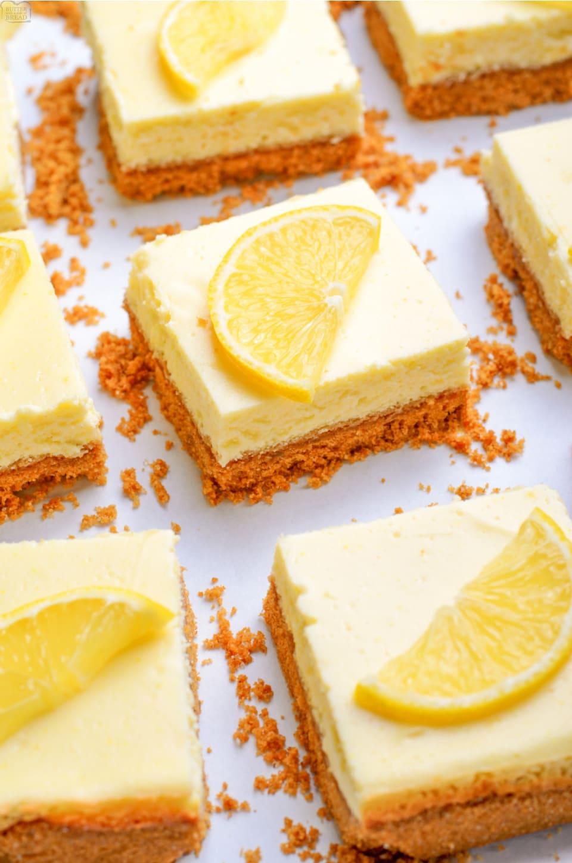 How to make Lemon Cheesecake Bars