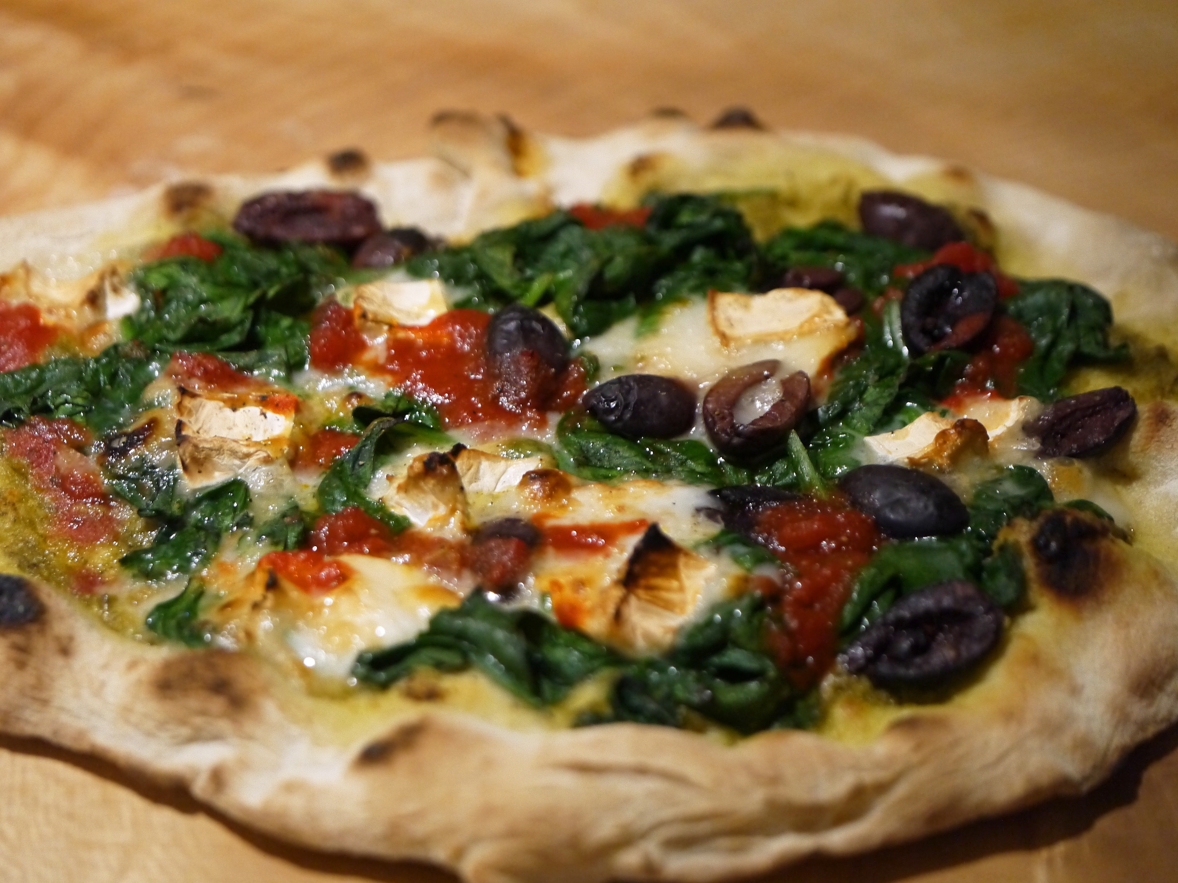 A few different pizzas on the Uuni 2S