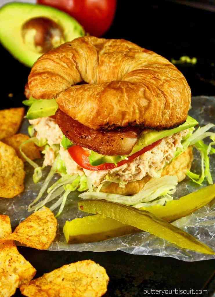 Chicken Salad Supreme Croissant