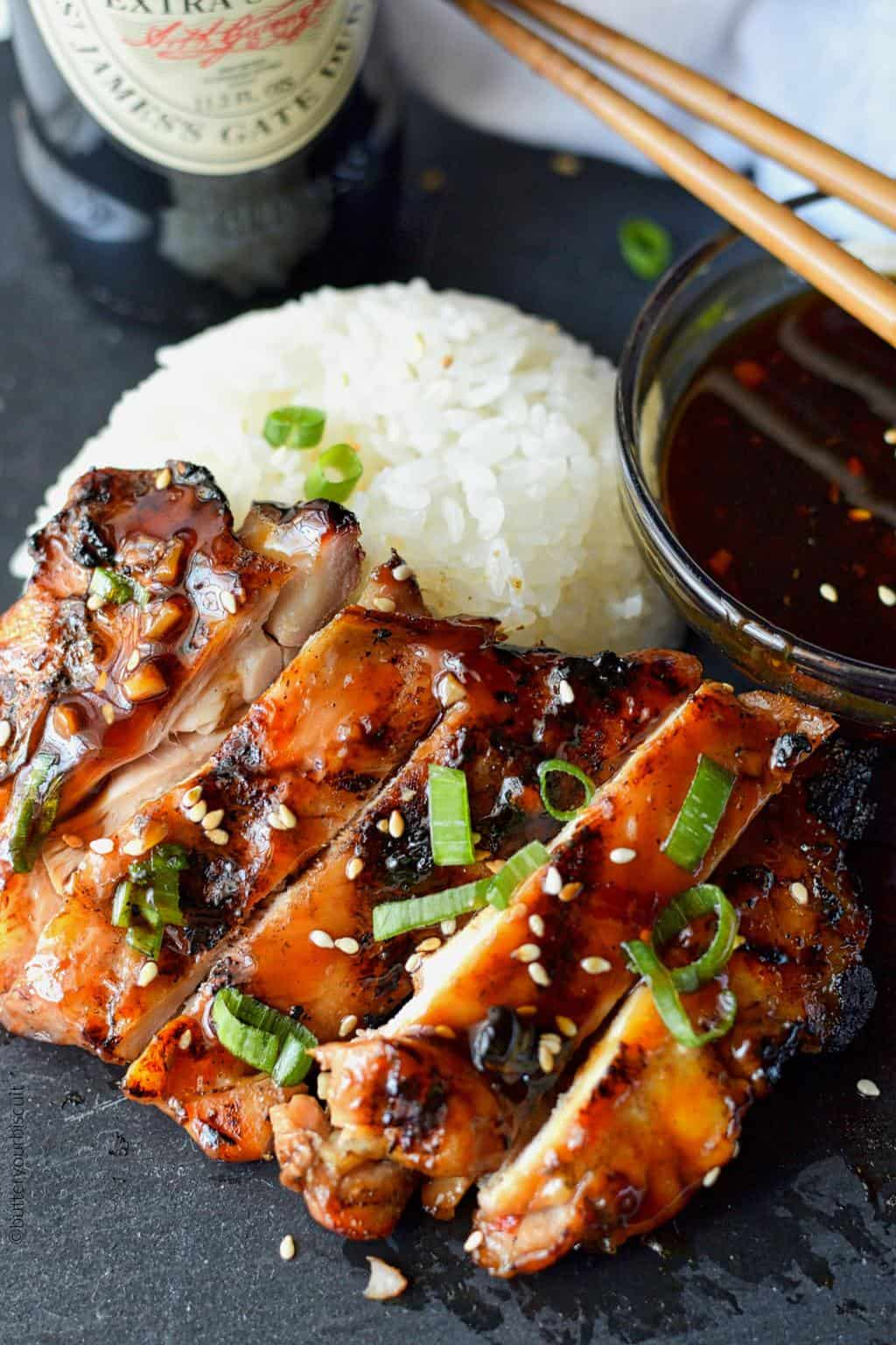 Grilled Teriyaki Chicken Recipe Butter Your Biscuit