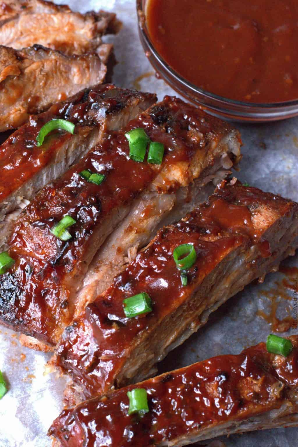 Easy oven bbq baked ribs recipe butter your biscuit for Side dishes for bbq ribs and chicken