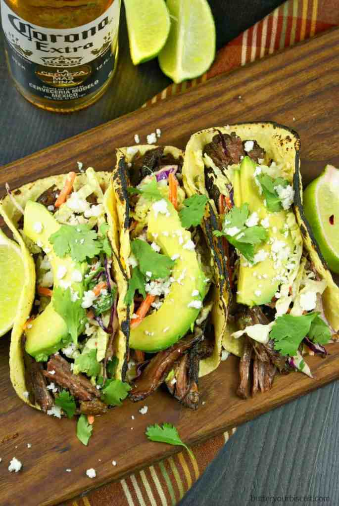 Slow Cooker Beef Short Rib Tacos