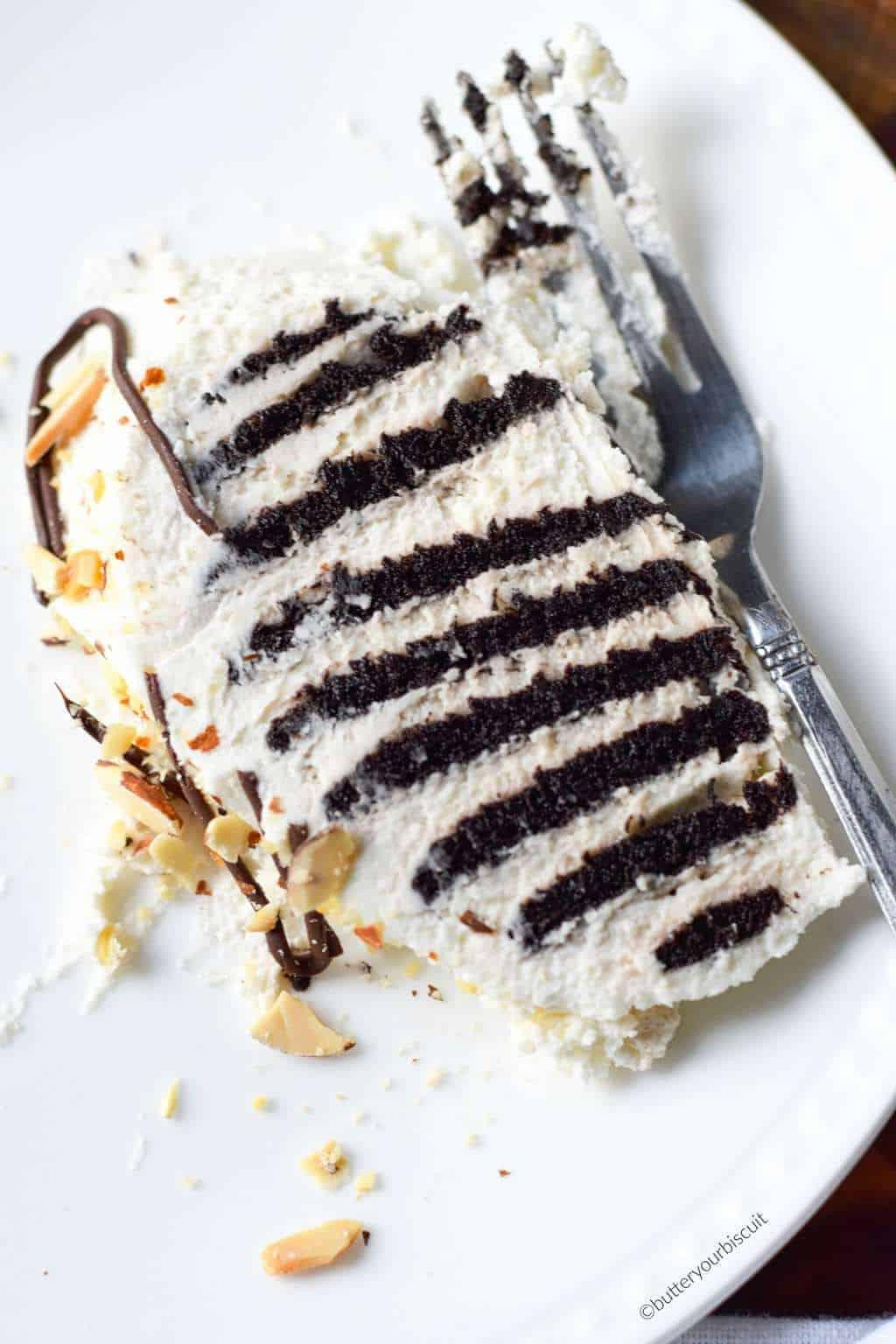 Chocolate Vanilla Pudding Icebox Cake Recipe