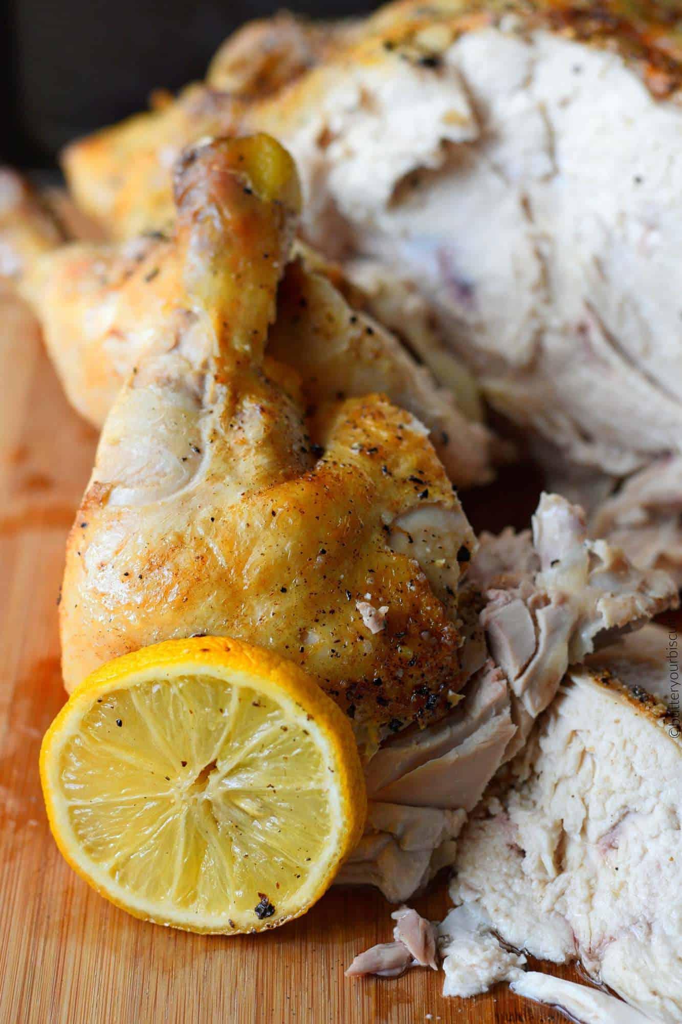 Slow cooker garlic butter chicken