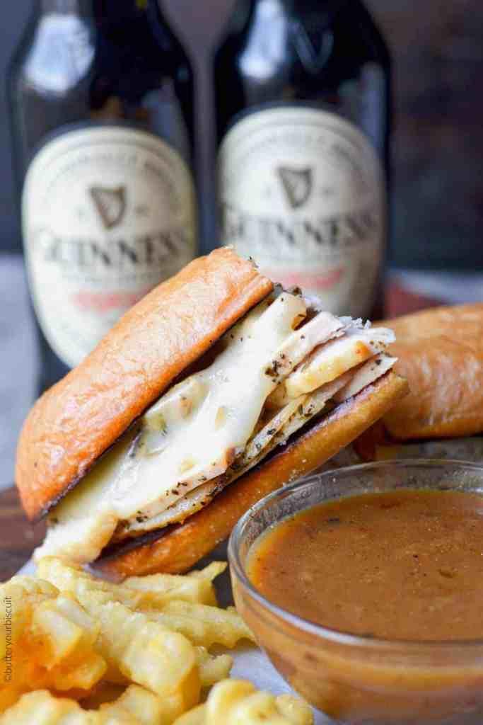 Turkey French Dip Sandwich