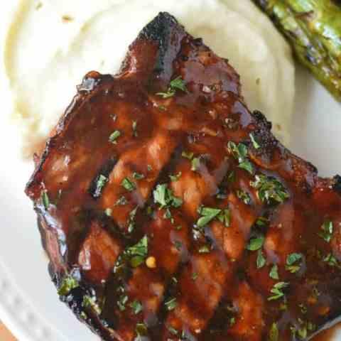 Hoisin Glazed Pork Chops