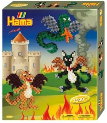 Hama Midi Gigantisches Geschenkset Mit 6000 Perlen Smyths Toys