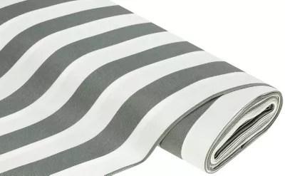 tissu d exterieur a rayures madrid gris blanc