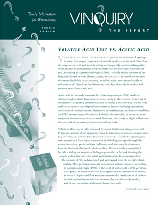 Vinquiry Spring Newsletter|Report