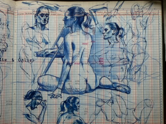 Friday nite nude sketches