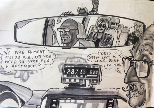 In das cab
