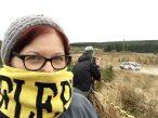 Watching the Pirelli International Rally in Kielder Forest with ColobusYeti