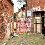 Street art (graffiti) in Sheffield, UK