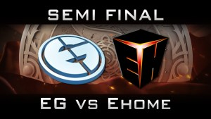 EG vs. EHOME, Game 1 - One for the record books.