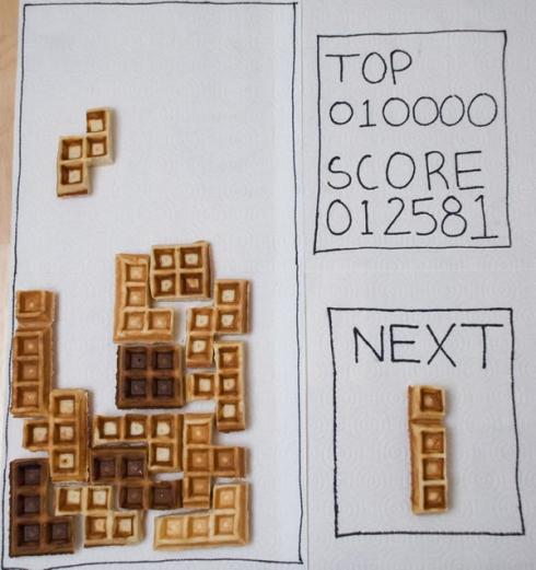 Waffle Tetris