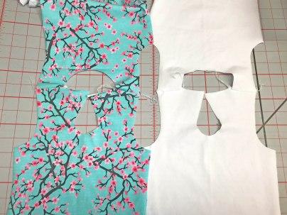 2- shoulders stitched