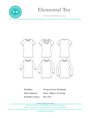 Elemental Tee Cover 2021-05-01