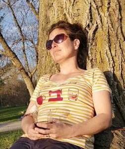 Mustard Stripe Tee Shirt