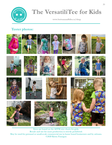 The VersatiliTee for Kids - Tester Images - Page 2