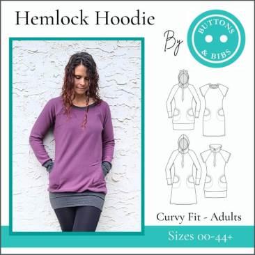 The Hemlock Hoodie - Curvy Fit
