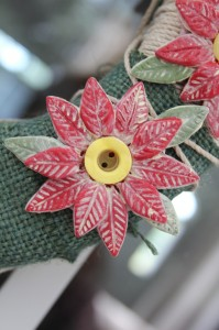 Sculpey Polymer Clay Poinsettia